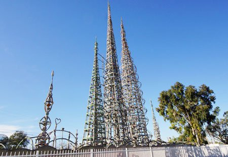 watts towers калифорния