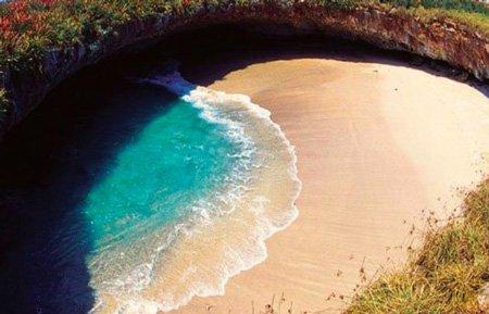 Скрытый пляж острова Мариета - LifeGlobe net