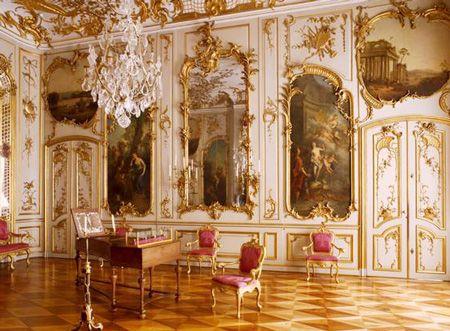 Дворец Сан-Суси - королевская летняя резиденция | Vasque-Russia.ru