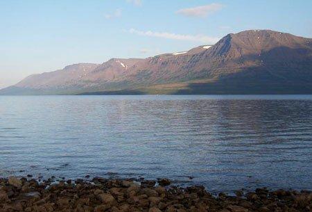 озеро таймыр сибирь